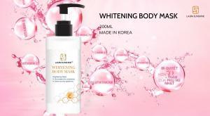 Whitening body mask - mặt nạ ủ trắng body laura sunshine nhật kim anh